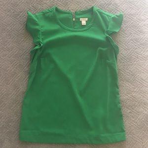 Emerald Jcrew Top